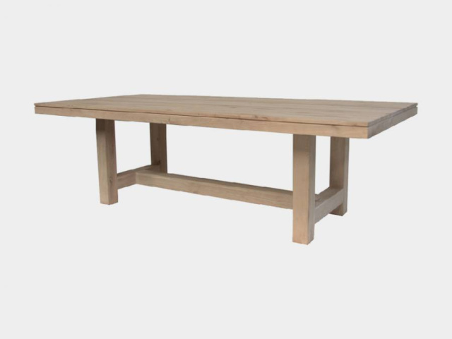 Cube Oak Dining Table